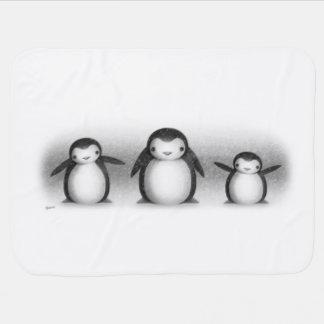 Penguins Receiving Blankets