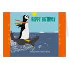 Pengy The Penguin Birthday Card. Card