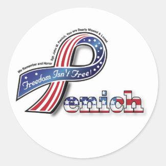 Penich Memorial Sticker
