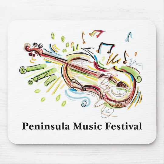 Peninsula Music Festival Mouse Pad