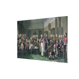 Peninsular Heroes at the United Services Club Canvas Print
