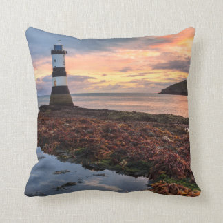 Penmon Lighthouse Sunrise | Puffin Island Cushion