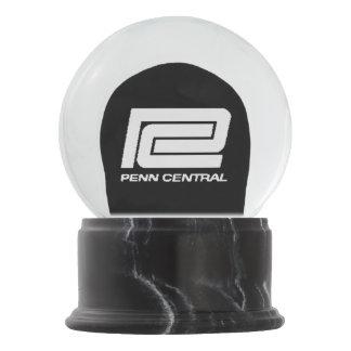 Penn Central Railroad Logo Snow Globes