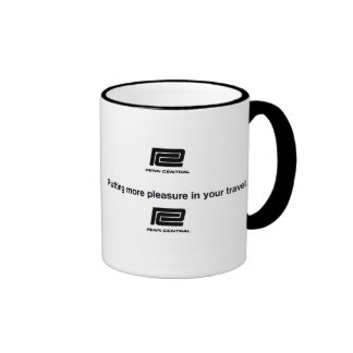Penn Central Railway Travel Ringer Coffee Mug