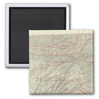 Penn climatological map magnet