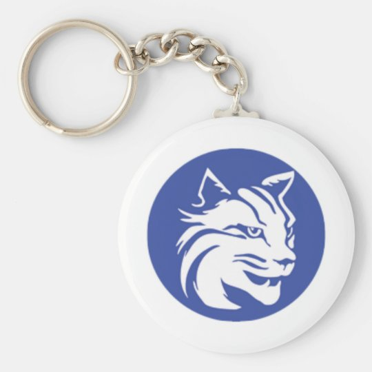Penn College Basic Round Button Key Ring