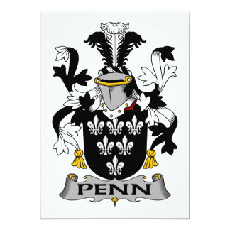 Penn Family Crest Announcement