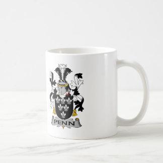 Penn Family Crest Mug