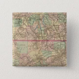 Penn, NJ 15 Cm Square Badge