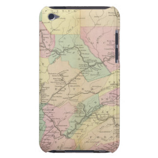 Penn railway map barely there iPod cases