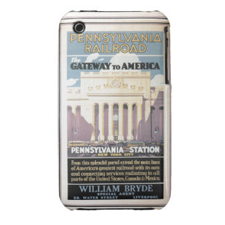 Penn Station,Gateway To America 1929 iPhone 3 Cases