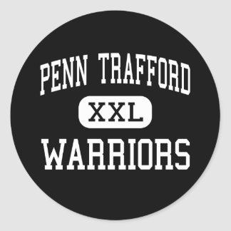 Penn Trafford - Warriors - High - Harrison City Classic Round Sticker