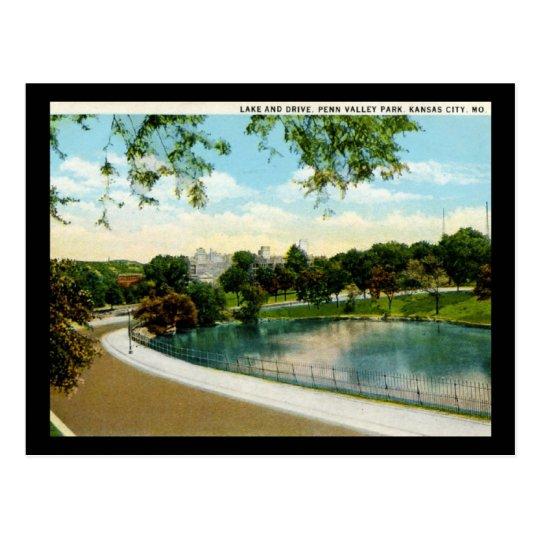 Penn Valley Park Kansas City Missouri 1920s Vintag Postcard