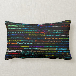 Penn Wynne Text Design I Lumbar Pillow
