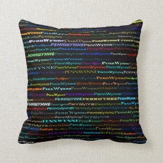 Penn Wynne Text Design I Throw Pillow