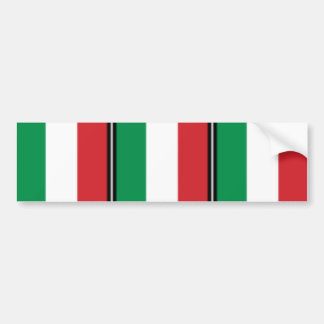 Pennant Of Italy Italy flag Bumper Stickers