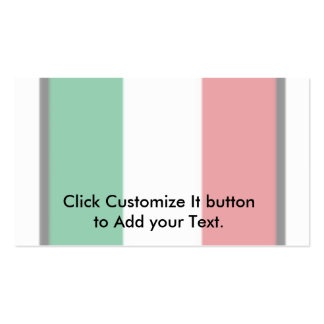 Pennant Of Italy Italy flag Business Card Template