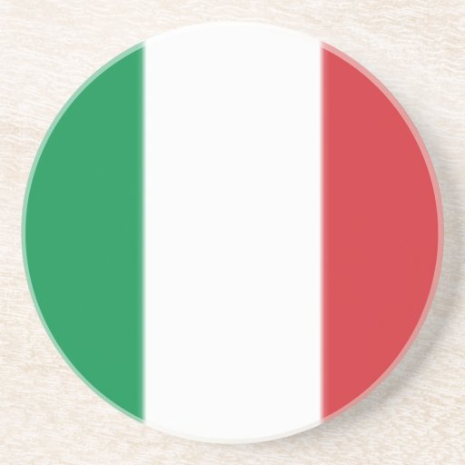 Pennant Of Italy, Italy flag Drink Coasters
