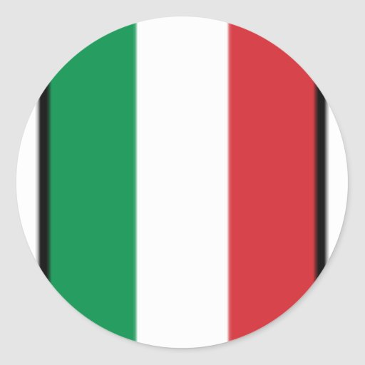 Pennant Of Italy, Italy flag Stickers