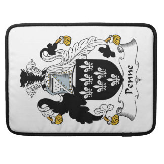 Penne Family Crest Sleeve For MacBook Pro