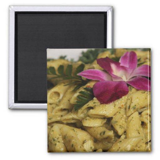 Penne Pasta Dish Refrigerator Magnets