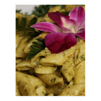 Penne Pasta Dish Post Card
