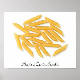 Penne Rigate Noodles Framed Print