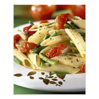 Penne with vegetables For use in USA only.) Art Photo
