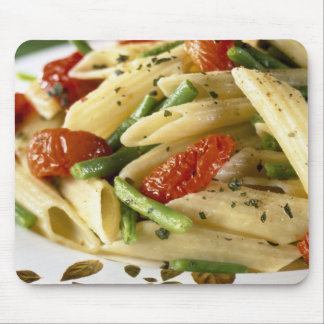 Penne with vegetables For use in USA only.) Mouse Pad