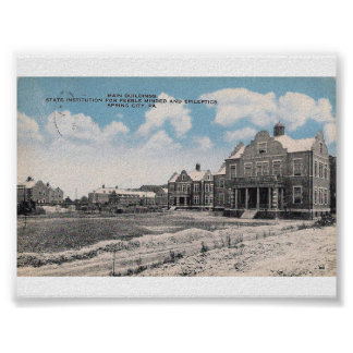Pennhurst State School and Hospital Poster