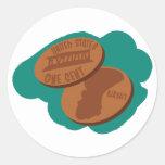 Pennies Sticker