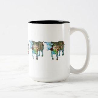 """Pennington Means Business"" Two-Tone Coffee Mug"