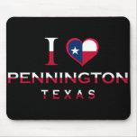 Pennington, Texas Mousepad