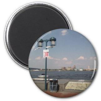 Penn's Landing (Scenery) Magnet