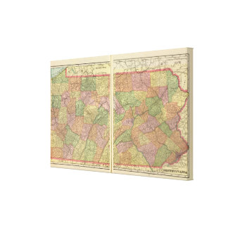 Pennsylvania 10 canvas print