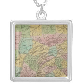 Pennsylvania 10 silver plated necklace