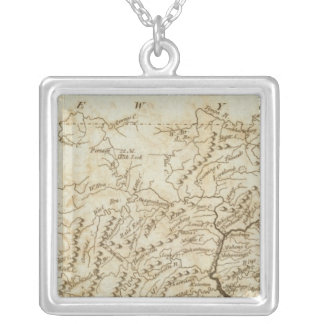 Pennsylvania 13 silver plated necklace