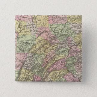 Pennsylvania 15 Cm Square Badge