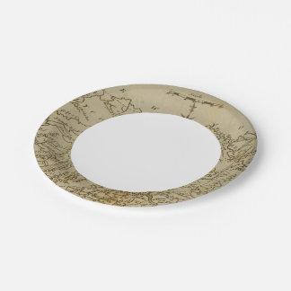 Pennsylvania 2 paper plate