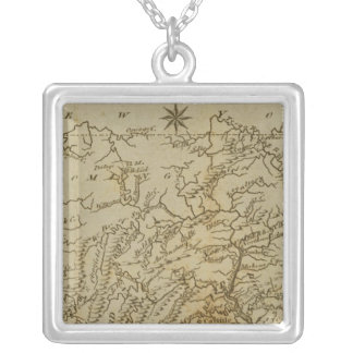 Pennsylvania 2 silver plated necklace