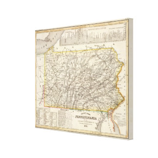 Pennsylvania 3 canvas print