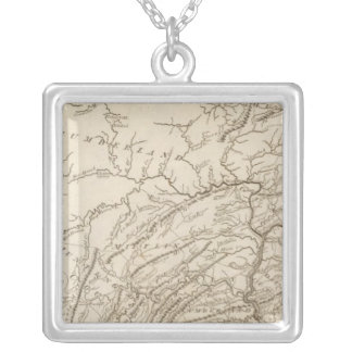 Pennsylvania 5 silver plated necklace
