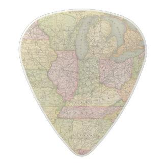 Pennsylvania 6 acetal guitar pick