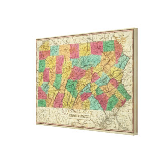 Pennsylvania 6 canvas print