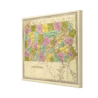 Pennsylvania 6 canvas print