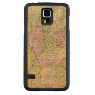 Pennsylvania 6 carved maple galaxy s5 case