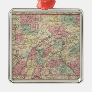 Pennsylvania 6 christmas ornament