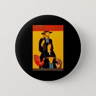 Pennsylvania 6 Cm Round Badge