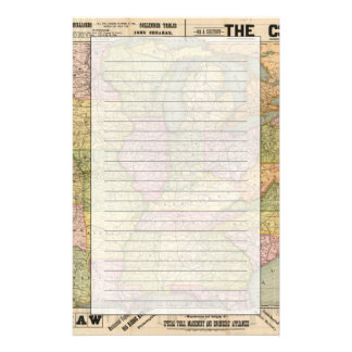 Pennsylvania 6 customized stationery