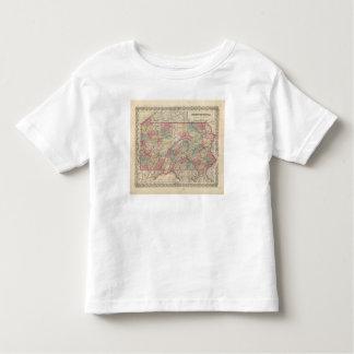 Pennsylvania 6 toddler T-Shirt